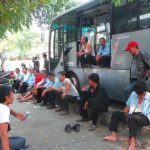 Derita Tahunan Buruh Transjakarta
