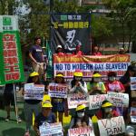 Perayaan May Day di Hong Kong: Aksi Bersama 'Pribumi' dan TKA